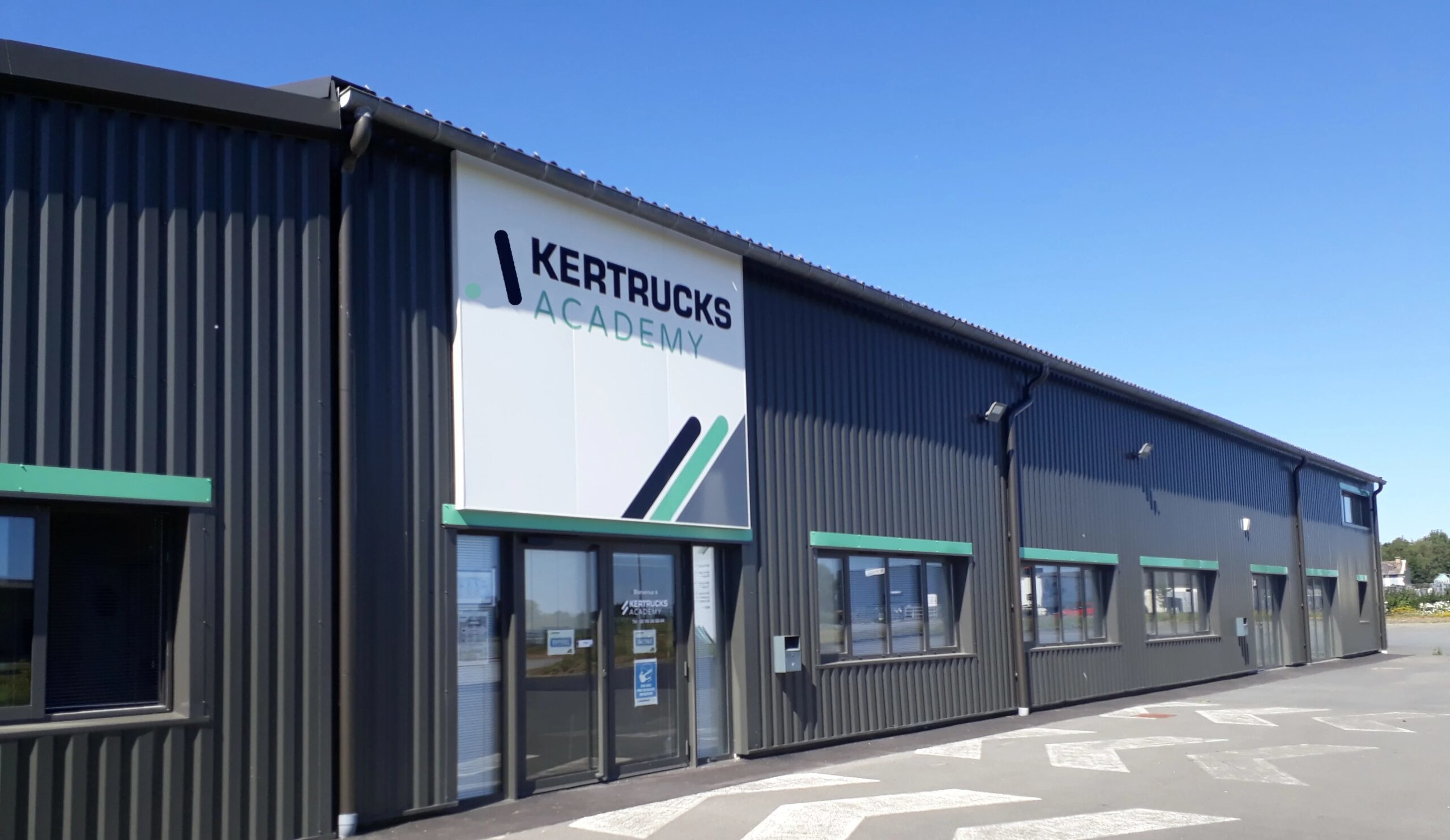 Exterieur Kertrucks academy